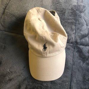 Tan Polo Ralph Lauren hat